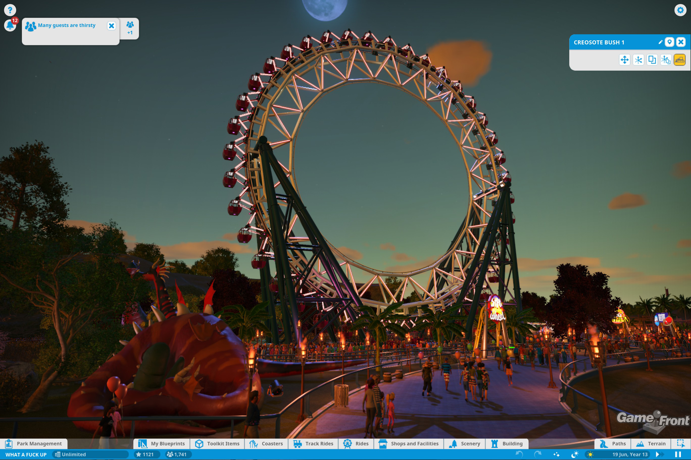 20 Years of RollerCoaster Tycoon: A Look Back At The Legendary