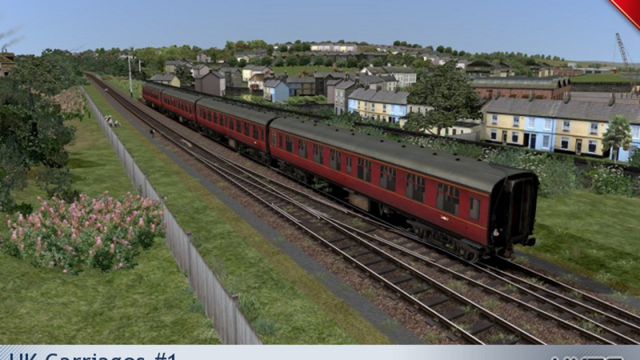 UKTrainsim Freeware Pack - UK Carriages #1 - Train ...